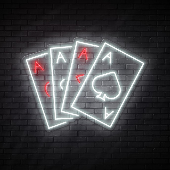 Aces - NEON LED Sign
