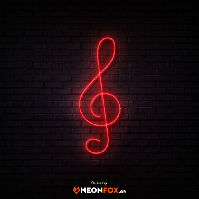 Clef - NEON LED Sign