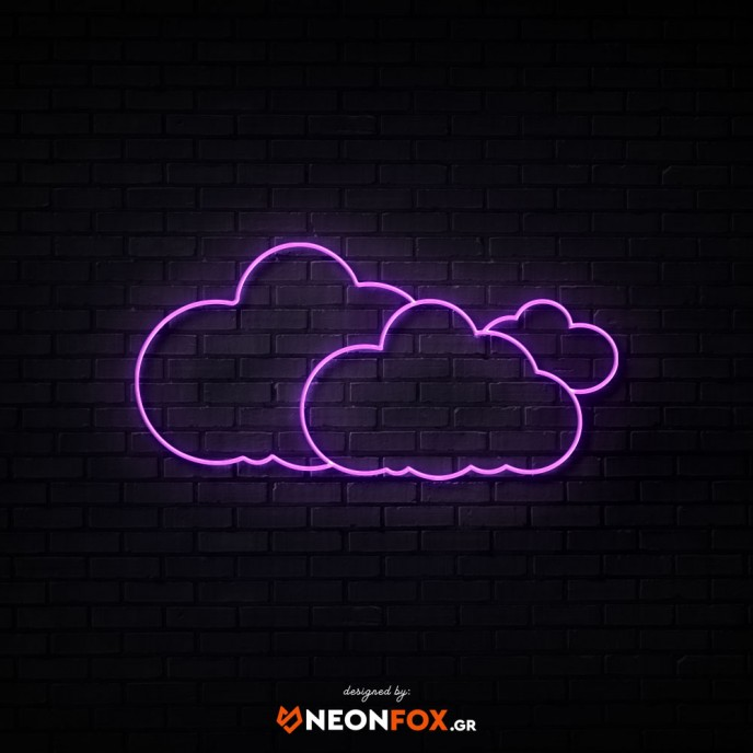 Clouds - NEON LED Sign