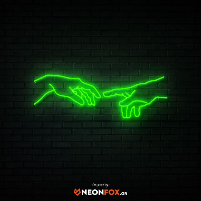 The creation of Adam - NEON LED Sign