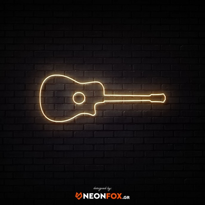 Classic Guitar - NEON LED Sign