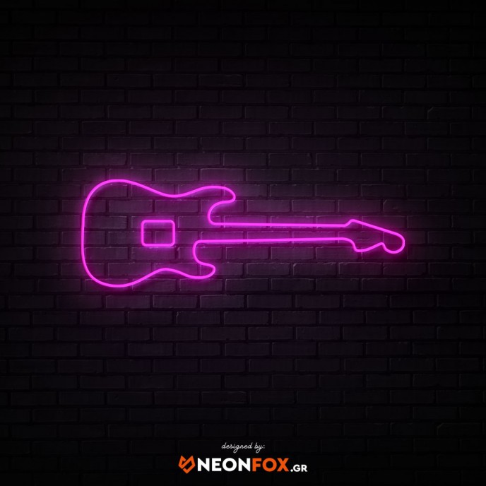 Electric Guitar - NEON LED Sign
