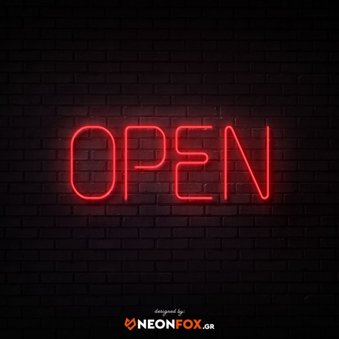 Open - NEON LED Sign