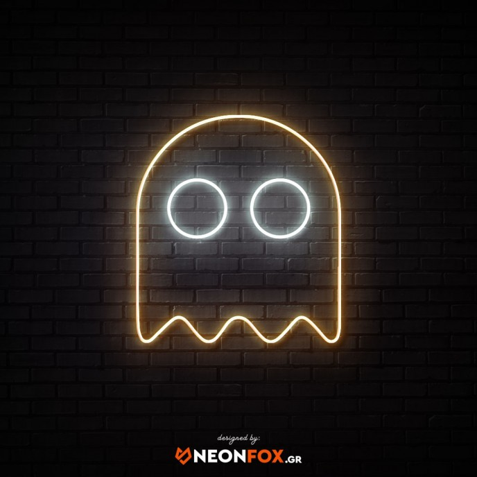 Pacman Ghost - NEON LED Sign