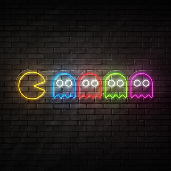 PacMan - NEON LED Sign