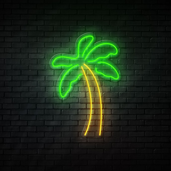 Palm Tree - NEON LED Sign